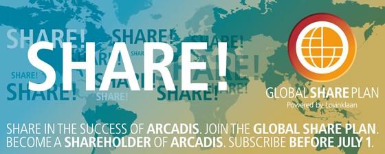 ARCADIS Global Share Plan - Banner ENG