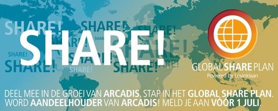 ARCADIS Global Share Plan - Banner NL