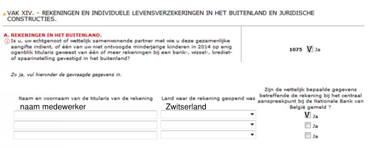Belastinginformatie Belgie 4