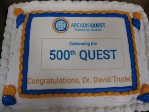 500th Quest - Arcadis - Lovinkaan