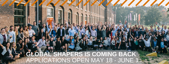 Global shapers is coming back